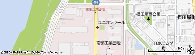 新潟県長岡市南陽周辺の地図