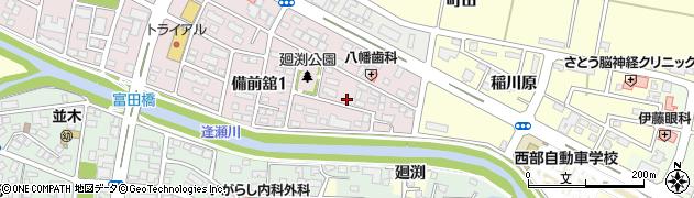 福島県郡山市富田町(松ノ口)周辺の地図