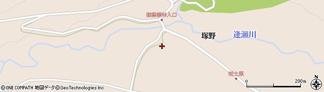 福島県郡山市逢瀬町多田野(北刎土原)周辺の地図