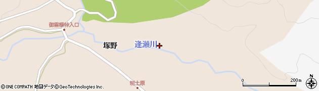 福島県郡山市逢瀬町多田野(堰場)周辺の地図