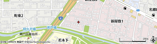 福島県郡山市富田町(狐塚)周辺の地図