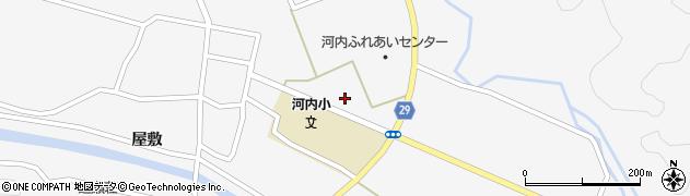 福島県郡山市逢瀬町河内(町東)周辺の地図