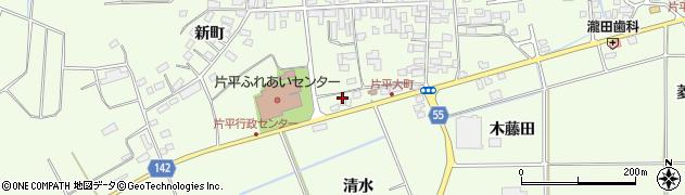 福島県郡山市片平町(畑鉾)周辺の地図