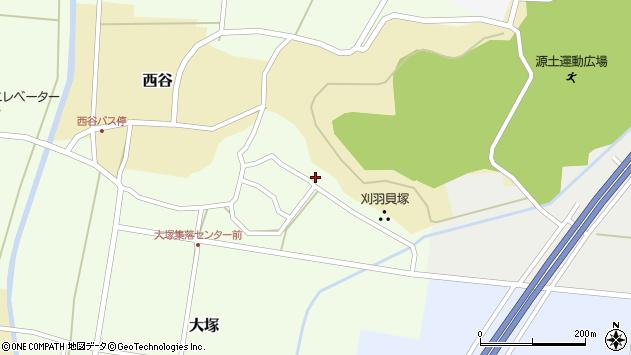 〒945-0313 新潟県刈羽郡刈羽村大塚の地図