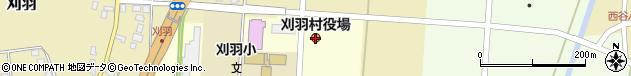 新潟県刈羽郡刈羽村周辺の地図