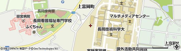 新潟県長岡市上富岡町周辺の地図