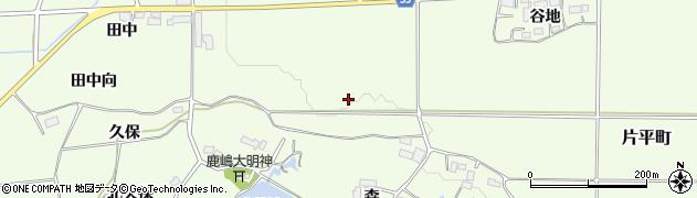 福島県郡山市片平町(白萱)周辺の地図