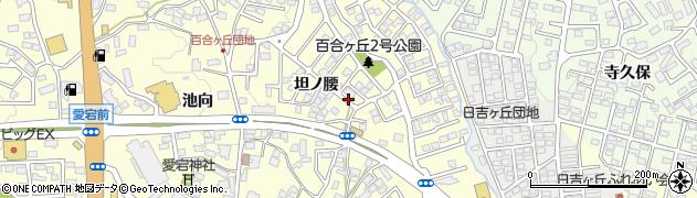 福島県郡山市富田町周辺の地図