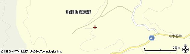 石川県輪島市町野町(真喜野イ)周辺の地図