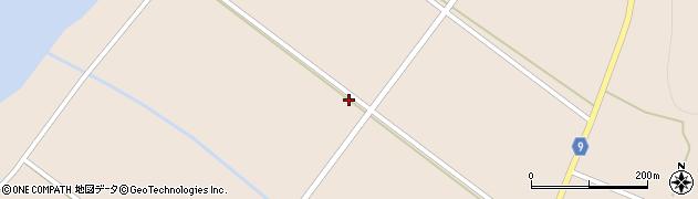 福島県郡山市湖南町横沢(赤沢)周辺の地図