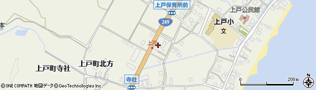石川県珠洲市上戸町(寺社ろ)周辺の地図