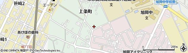 新潟県長岡市上条町周辺の地図