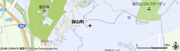 新潟県長岡市御山町周辺の地図