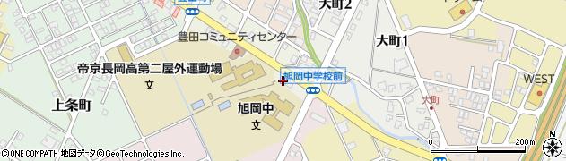 新潟県長岡市大町周辺の地図