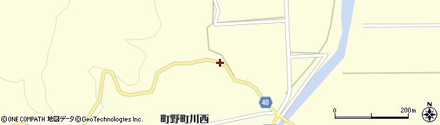 石川県輪島市町野町(川西ニ)周辺の地図