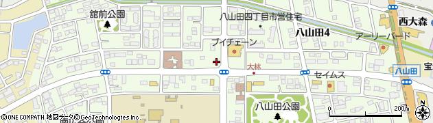 ふくろうのはり治療院.周辺の地図