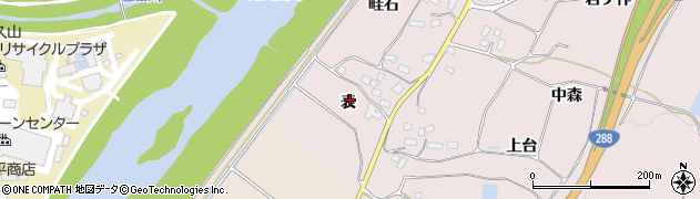 福島県郡山市富久山町堂坂(表)周辺の地図