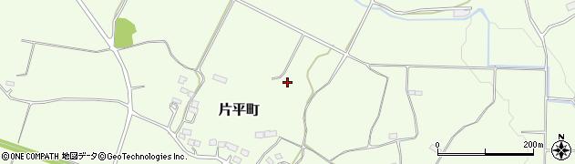 福島県郡山市片平町(梅坊)周辺の地図