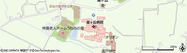 星総合病院(公益財団法人) 星ヶ丘保育園周辺の地図
