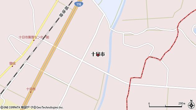 〒945-0306 新潟県刈羽郡刈羽村十日市の地図