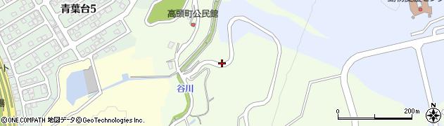 新潟県長岡市高頭町周辺の地図