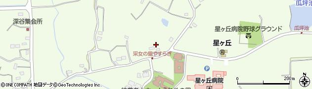 福島県郡山市片平町(権現林)周辺の地図