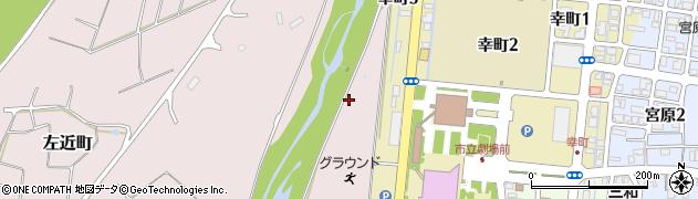 新潟県長岡市左近町周辺の地図