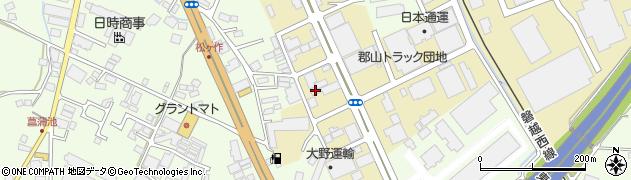 ヤマトホームコンビニエンス株式会社 郡山引越支店周辺の地図