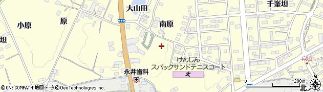 福島県郡山市日和田町周辺の地図