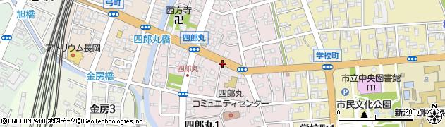 新潟県長岡市四郎丸周辺の地図