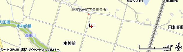 福島県郡山市日和田町(十二)周辺の地図