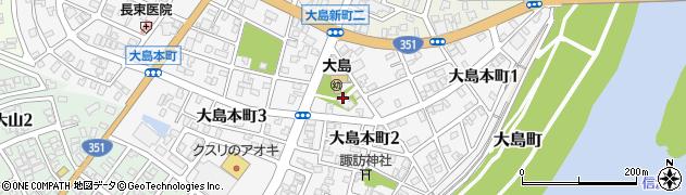 託善寺周辺の地図