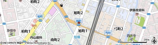 新潟県長岡市旭町周辺の地図