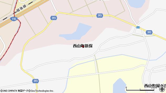 〒949-4144 新潟県柏崎市西山町新保の地図
