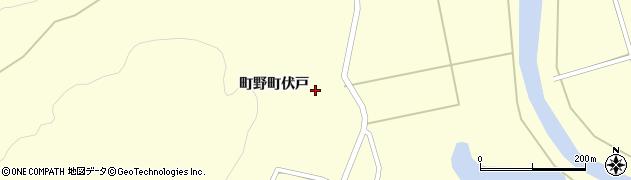 石川県輪島市町野町(伏戸)周辺の地図
