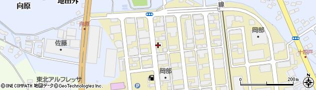 株式会社ホクエツ 福島営業所周辺の地図