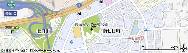 新潟県長岡市南七日町周辺の地図
