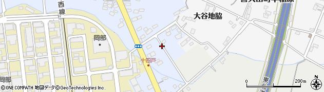 福島県郡山市喜久田町堀之内(向原)周辺の地図