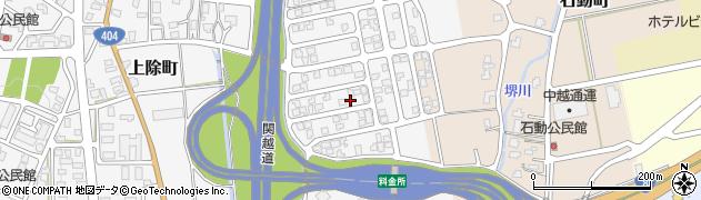 新潟県長岡市上除町周辺の地図