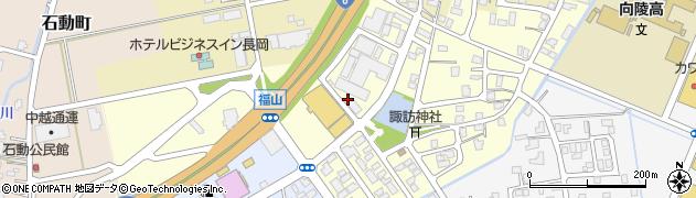 新潟県長岡市福山町周辺の地図