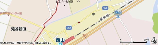 新潟県柏崎市西山町西山周辺の地図
