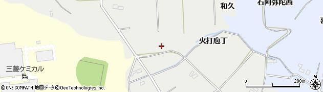 福島県郡山市熱海町下伊豆島周辺の地図