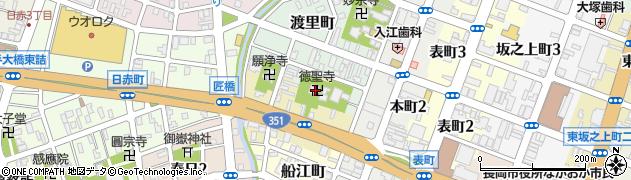 徳聖寺周辺の地図