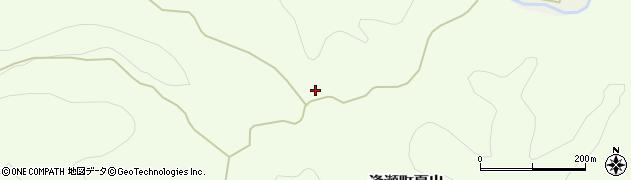 福島県郡山市逢瀬町夏出(草苅平)周辺の地図