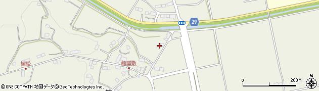 福島県郡山市熱海町長橋(竹ノ下)周辺の地図