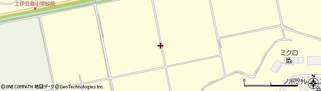 福島県郡山市熱海町上伊豆島(向)周辺の地図