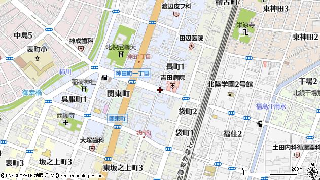 〒940-0053 新潟県長岡市長町の地図
