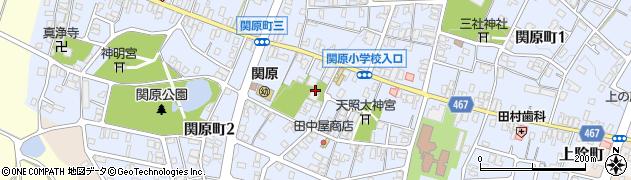 西妙寺周辺の地図