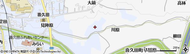 福島県郡山市喜久田町堀之内(姫宮)周辺の地図