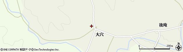 福島県郡山市熱海町長橋(大穴)周辺の地図